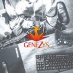 Création de logo design Génézys