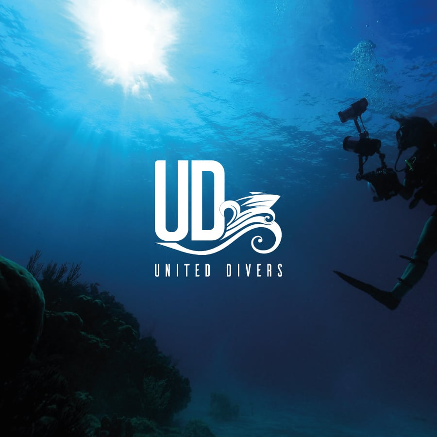 Refonte de logo United Divers – Image
