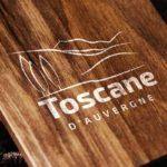 Création de logo sur-mesure Toscane d'Auvergne
