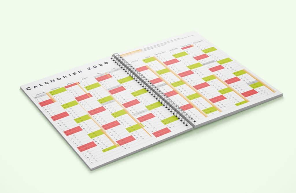 Design graphique les calendriers